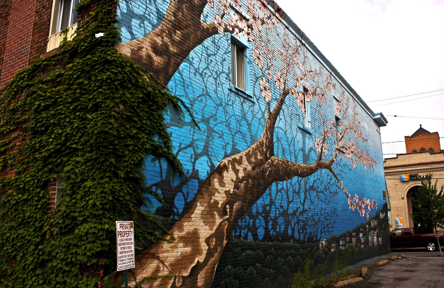 Bloom (detail - left side)