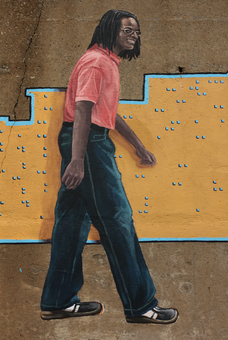 Walk On Through (Detail - Figure 1)
