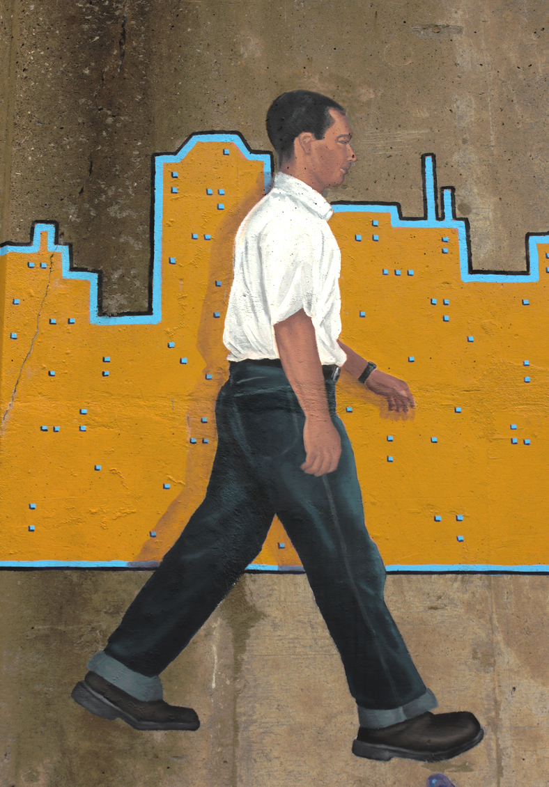 Walk On Through (Detail - Figure 7)