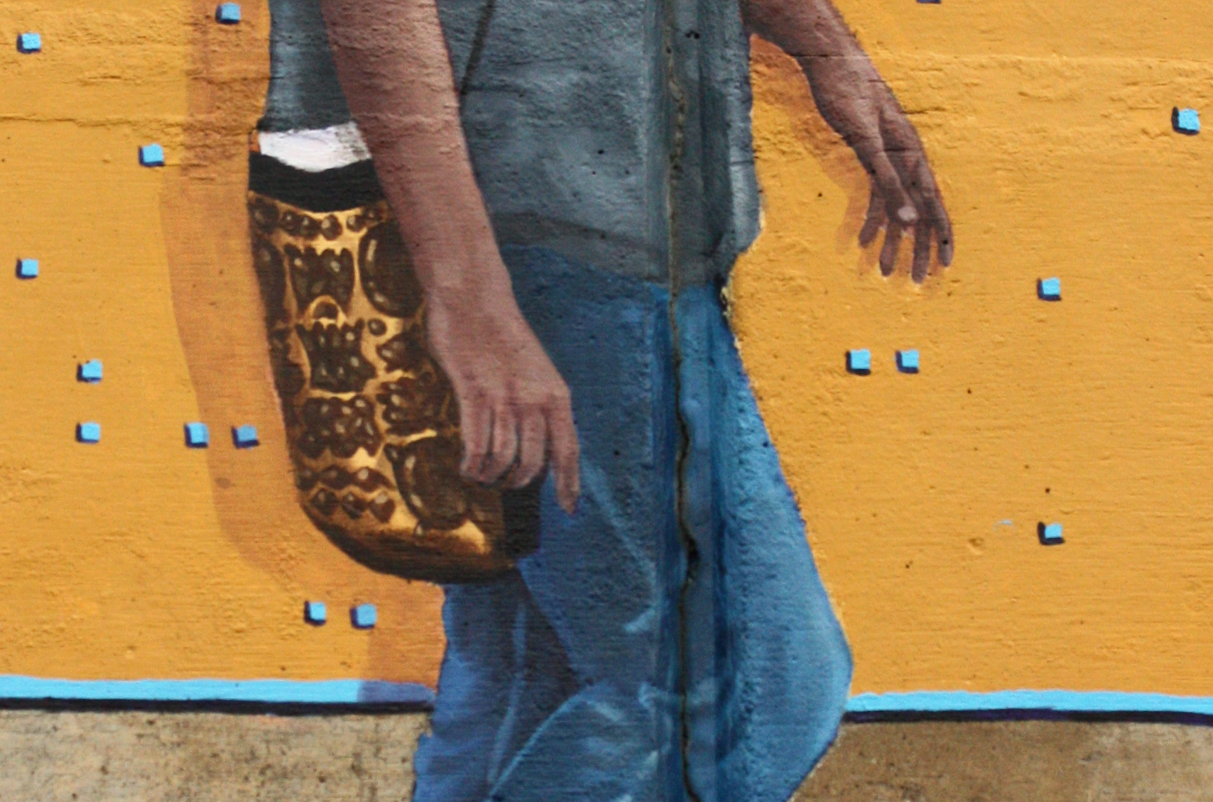 Walk On Through (Detail - Figure 8 - Purse)